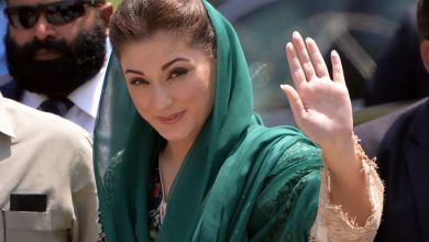 Photo of Maryam slams 'NAB-Niazi Nexis' following Shehbaz Sharif's arrest.