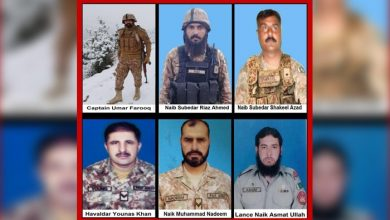 Photo of 6 Brave Pak Army soldiers martyred in North Waziristan
