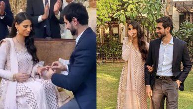 Photo of Beauty Rehmat Ajmal gets engaged