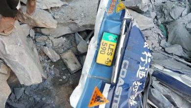 Photo of Landslide in Skardu crushes bus, 16 dead