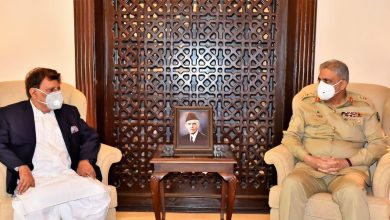 Photo of COAS General Qamar Bajwa hosts AJK PM, Afghan Ambassador