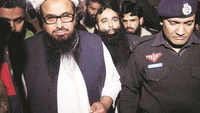 Photo of Hafiz Saeed sentenced to 10 years in terrorism funding case