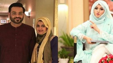 Photo of PTI MNA Aamir Liaquat divorces his first wife over the phone