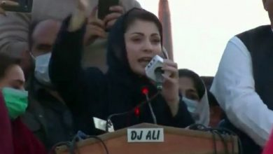 """Photo of PM Khan's speech was an admission of his """"incompetence"""": Mohtarma Maryam Nawaz"""