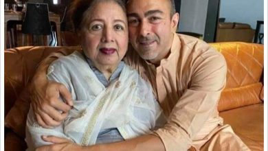 Photo of Shaan's mother, Neelo Begum, passes away aged 80