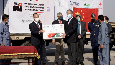 Photo of Pakistan thanks Chinese govt for COVID-19 vaccine gift