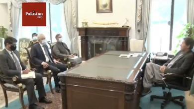 Photo of Egyptian Ambassador Tarek Mohamed Dahroug calls on PM Imran Khan