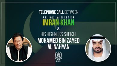 Photo of PM Khan, Abu Dhabi crown prince MbZ speak over the phone, discuss matters of mutual interest