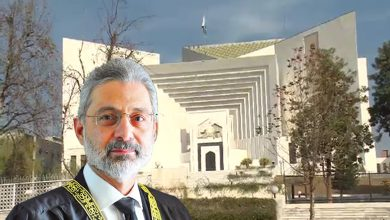 Photo of Supreme Court sends Justice Qazi Faez Isa matter of larger bench to CJ