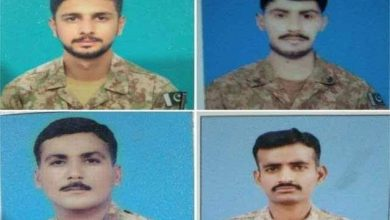 Photo of Four soldiers martyred in attack on South Waziristan check post