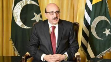 Photo of No compromise on our struggle for freedom, liberty: AJK President Sardar Masood Khan