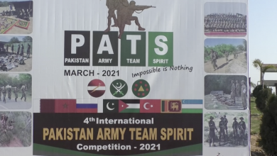 Photo of 4th International Pakistan Army Team spirit competition 2021 Kicks off