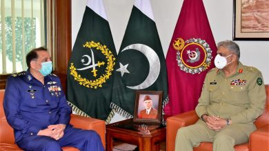 Photo of Air Chief meets Army Chief Gen Bajwa