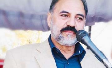 Photo of AJK President pays rich tributes to Inqalabi at a condolence reference