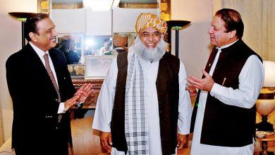 Photo of Zardari, Fazl, Nawaz discuss PDM's loss in Senate election