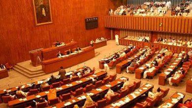 Photo of 48 newly-elected senators take the oath of office