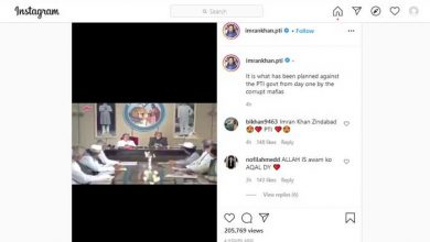 Photo of PM Imran uses Bollywood clip to show 'plan by corrupt mafias' against his gov