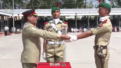Photo of Passing out parade of cadets held at Pakistan Military Academy