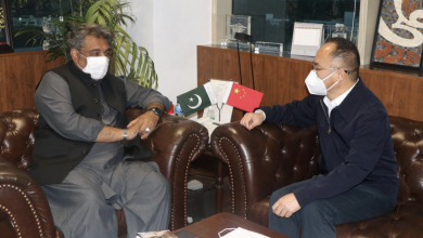 Photo of Chinese Ambassador H.E Nong Rong calls on Federal Minister for Maritime Affairs
