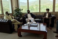 Photo of Dr Fehmida Mirza meets Usman Dar