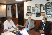 Photo of Ali Zaidi chairs a meeting to address corruption & irregularities at Karachi Port Trust