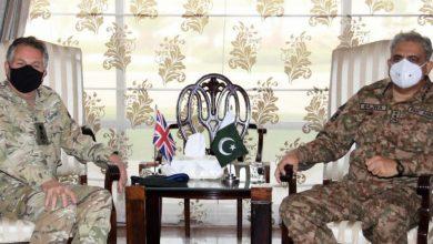 Photo of Army Chief Gen Bajwa meets British Chief of Defense Staff