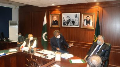 Photo of Finance Minister Shaukat Tareen calls on Federal Minister for Maritime Affairs