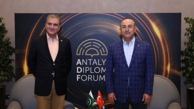 Photo of FM Qureshi meets Turkish counterpart