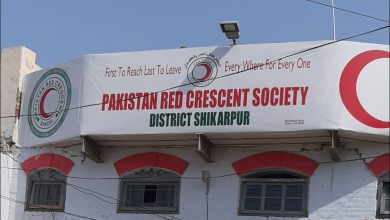 Photo of Members for Pakistan Red Crescent Society nominate in Shikarpur