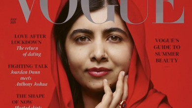 Photo of Malala represents eastern roots on the cover of Vogue