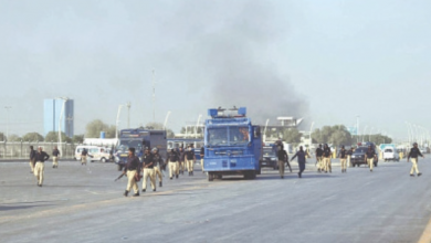 Photo of Bahria Town: Protest held after arrests of key Sindhi nationalist leaders
