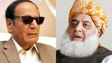 Photo of Ch Shujaat telephones Maulana Fazlur Rehman to inquire about his health