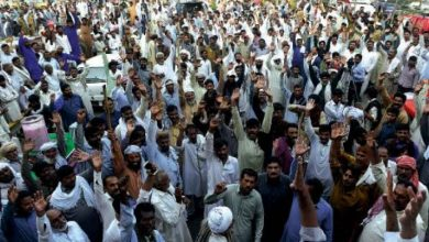 Photo of Long march staged against water shortage in Thatta
