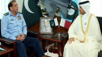 Photo of Qatar envoy calls on PAF chief