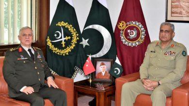 Photo of Commander Turkish Land Forces calls on General Qamar Javed Bajwa