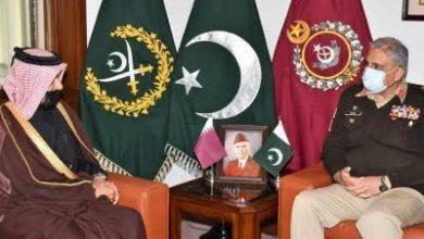 Photo of Qatar's Special Envoy calls on COAS General Qamar Bajwa