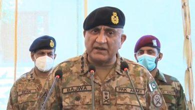 Photo of COAS Bajwa spends Eidul Azha with troops on Pak-Afghan border
