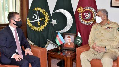 Photo of Azerbaijan envoy calls on General Qamar Javed Bajwa
