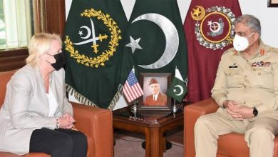 Photo of COAS General Bajwa, US Charge D' Affairs Aggeler discuss security situation in Afghanistan