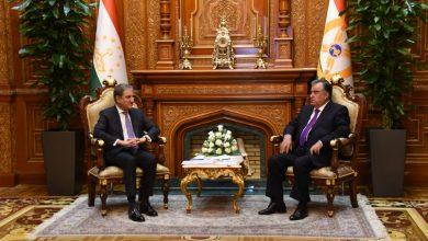 Photo of FM Qureshi, Tajikistan President Emomali Rahmon discuss Afghan situation