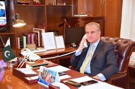 Photo of FM Qureshi, Danish counterpart discuss Afghan situation