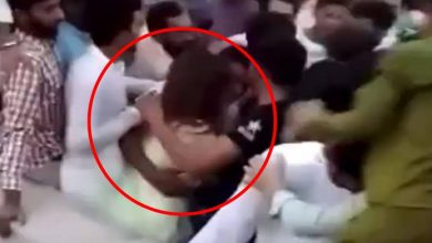 Photo of Tiktoker Ayesha Baig assaulted, thrown into air by hundreds on Independence Day, FIR lodged