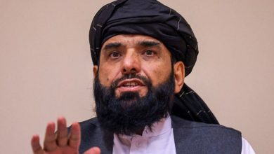 """Photo of """"Willing to establish relations with all nations except Israel,"""" Taliban spokesman Suhail Shaheen"""