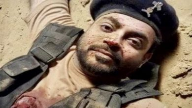 Photo of Afghan Journalist shows Aamir Liaquat as Colonel Adil, a Pakistani commander killed in Panjshir during fight