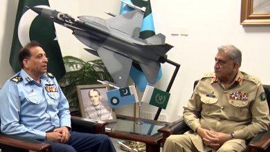 Photo of COAS General Bajwa visits PAF headquarters