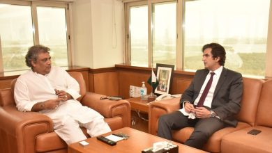 Photo of Minister for Industries calls on Ali Zaidi