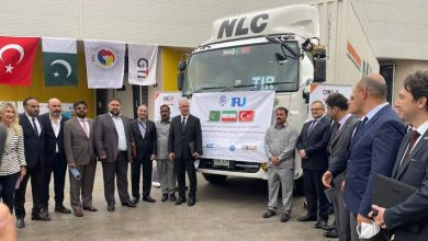Photo of 1st NLC truck transporting commodities from Pakistan reaches Turkey via Iran