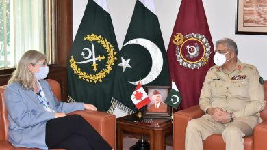 Photo of Canadian High Commissioner to Pakistan calls on COAS at GHQ