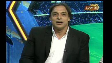Photo of Shoaib Akhtar resigns from PTV on live show after exchange of words with host Nauman Niaz