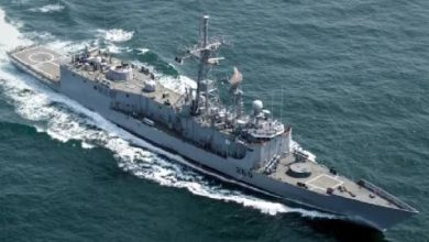 Photo of PNS Alamgir takes part in a joint exercise in Egypt